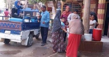 قطع المياه عن القناطر الخيرية 6 ساعات اليوم لغسيل الشبكات