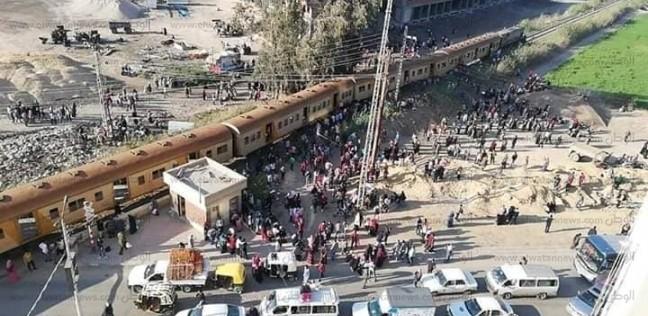 المحافظات | عاجل| انقلاب قطار في كفر الشيخ