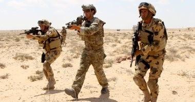 """تدريبات مشتركة بين الجيشين المصرى والأمريكى قبل فعاليات """"النجم الساطع"""""""