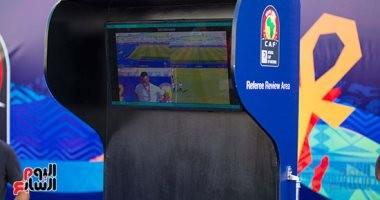 صور.. الدفاع الجوي يستعد لأول مباراة بالفار فى تاريخ كأس أمم أفريقيا