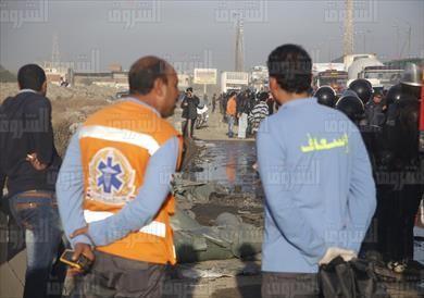 بالصور..«الصحة»: وفاة 8 مواطنين وإصابة 21 آخرين في حادث اشتعال أتوبيس الإسكندرية