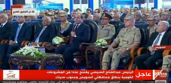 السيسي يعاتب وزير النقل بسبب طريق المحاجر: الكلام ده بقاله سنة يا كامل