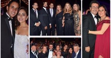 نجوم الفن والمشاهير فى زفاف نجل عمرو عرفة.. والسقا يقتحم الحفل بالحصان
