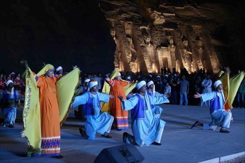 «الكينج» فى رحاب الكرنك احتفالا بختام فعاليات «الأقصر عاصمة الثقافة العربية»