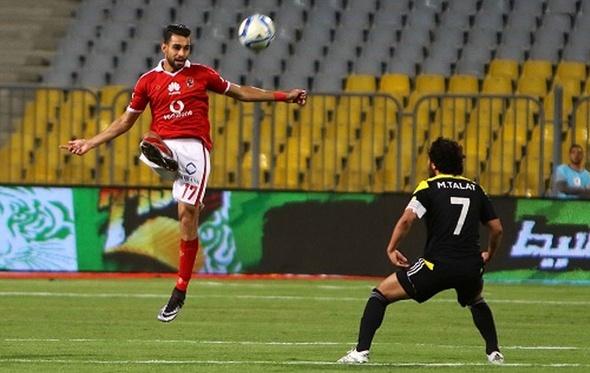 عمرو السولية يغيب عن مران مستبعدي الأهلي