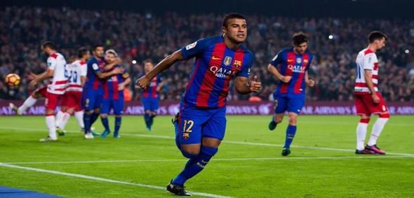 بالفيديو.. برشلونة يفوز على غرناطة ويواصل مطاردته لريال مدريد