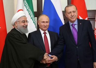 قادة روسيا وإيران وتركيا يجتمعون في طهران لبحث مصير إدلب