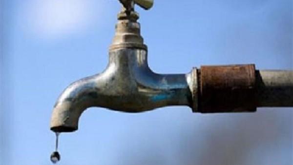 قطع المياه في بعض المناطق بالقاهرة غدا