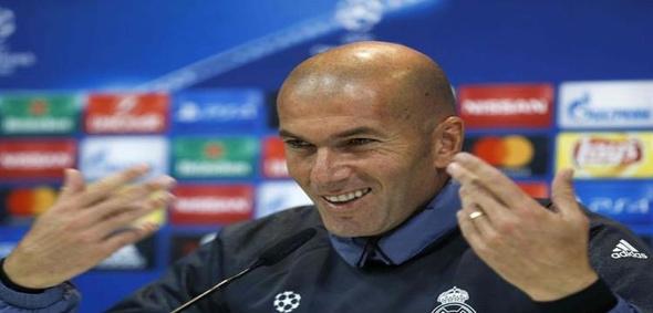 زيدان عن اداء ريال مدريد: يمكننا أن نسعد فقط بالنقاط الثلاثة
