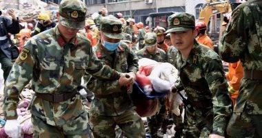 مصرع 22 شخصا فى انهيار منصة بناء فى محطة لتوليد الكهرباء وسط الصين