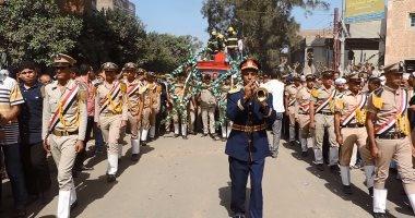 اليوم.. محافظ الغربية ومدير الأمن يشاركان فى جنازة عسكرية لأحد شهداء العريش