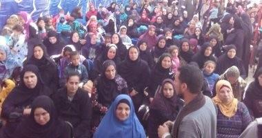"""""""صوتك لمصر بكرة"""" مؤتمر جماهيري حاشد للمجلس القومي للمرأة بأسيوط"""