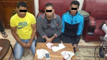 القبض على 3 عاطلين بالدقهلية بحوزتهم 30 كيلو بانجو