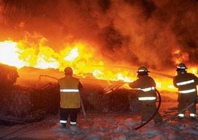 السيطرة على حريق بمحطة توزيع الكهرباء في السويس