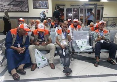 837 حاجا فلسطينيا يغادرون معبر رفح لمطار القاهرة