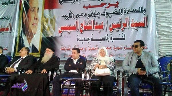 مؤتمر حاشد لدعم «السيسي» بالأقصر بحضور شعيب والغندور .. صور