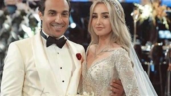 شاهد | أحدث ظهور لـ هنا الزاهد وأحمد فهمي بعد زفافهما
