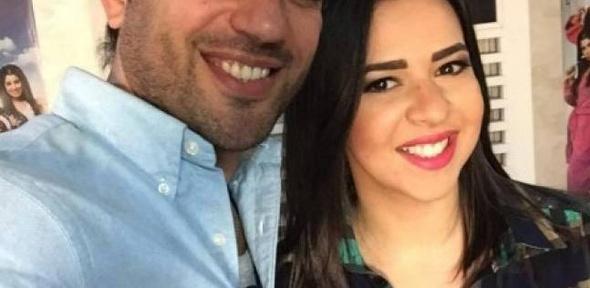 """بالصور  مها أحمد ومجدي كامل يصلان """"الجونة"""" لحضور زفاف """"الرداد وإيمي"""""""