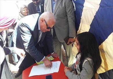 مدرسة تجريبية ببورسعيد تنظم نموذج محاكاة للانتخابات الرئاسية