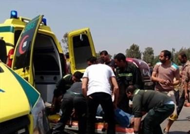 «الصحة»: ارتفاع ضحايا أتوبيس بورسعيد لـ9 وفيات و18 مصابا