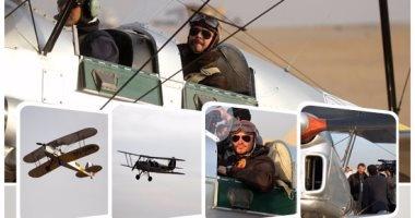 سفارة بريطانيا بالقاهرة: طائرة شراعية تحلق فوق الأهرامات دعما للسياحة