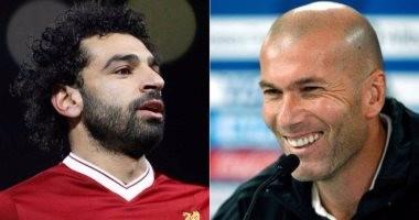 زيدان يطالب رئيس ريال مدريد بضم محمد صلاح فى الانتقالات الصيفية