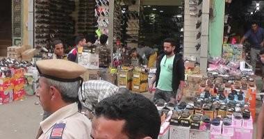 صور... ضبط 33 عنصرا إجرامىا و8 قضايا مخدرات بحملة أمنية بشبرا الخيمة