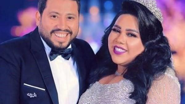زوج شيماء سيف يكشف حقيقة إصابتها بـ سرطان الثدي