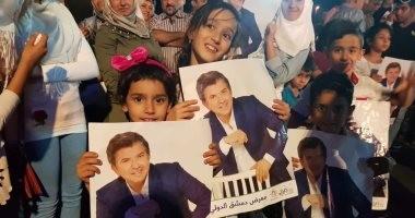 صور.. وليد توفيق يقدم أقوى حفلاته بسوريا بعد غيابه عنها 7 سنوات