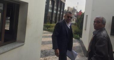 خالد مرتجي يصل الجبلاية لحضور اجتماع الاندية ممثلا عن الاهلى