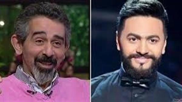 تامر حسني يكشف طبيعة مرض الفنان مصطفى هريدي.. فيديو