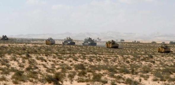 تصفية 9 عناصر إرهابية وضبط أسلحة ومتفجرات ومخدرات في سيناء