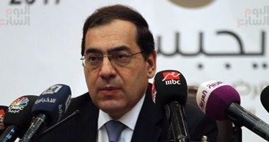 وزير البترول: نستهدف 10 مليارات دولار استثمارات خلال العام المالى الحالى