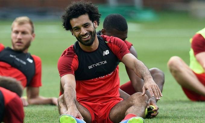 محمد صلاح: سعيد بالتواجد في ليفربول ونسعى لتقديم موسم أفضل