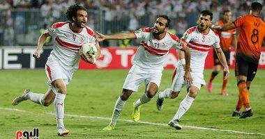 60 دقيقة.. الزمالك يتقدم على نهضة بركان بهدف محمود علاء