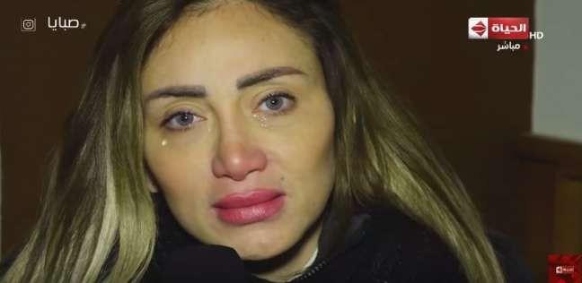 ريهام سعيد تعاني من حالة نفسية سيئة بعد إصابتها بميكروب خطير