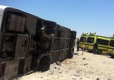 «الصحة»: إصابة 11 مواطنا في حادث انقلاب أتوبيس بمدينة نصر