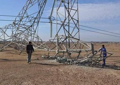 مصدر أمني عراقي: استهداف برج كهرباء بعبوة ناسفة في كركوك