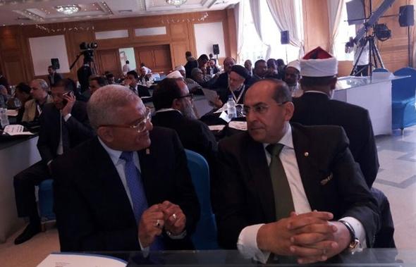 رئيس جامعة المنيا يشارك في افتتاح مؤتمر التنمية الاقتصادية بالمحافظة