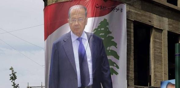 """ميشال عون الزعيم """"العنيد"""" رئيسا للبنان بعد مسيرة عسكرية وسياسية حافلة"""