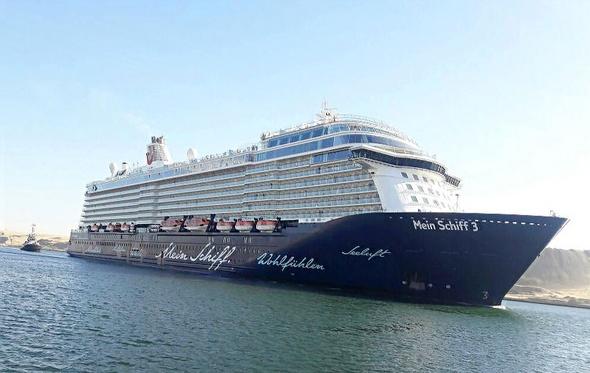 50 % تخفيضات للسفن السياحية المارة بقناة السويس والموانئ