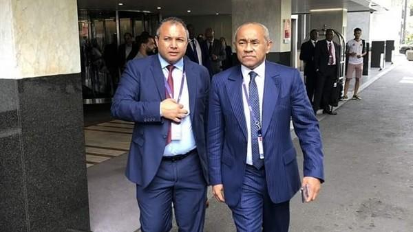 بعد القبض على أحمد أحمد.. نيجيري يتولى رئاسة الاتحاد الإفريقي مؤقتا