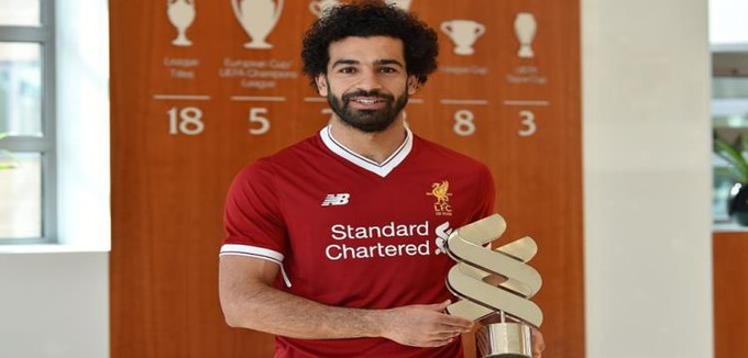 صلاح لاعب الشهر في ليفربول للمرة الخامسة.. واللاعب يختار أفضل أهدافه