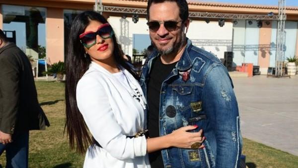 زوجة ماجد المصري تخطف الأنظار في خطبة ابنته.. صور