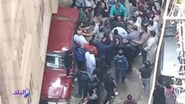 صدى البلد ينشر الصور الأولى من حادث مقتل إمام مسجد أثناء الصلاة بفيصل