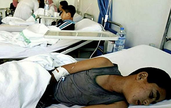 إصابة 77 تلميذ ابتدائي بالتسمم نتيجة تناول وجبات مدرسية فاسدة بالبحيرة