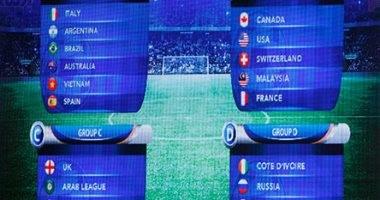 صور.. البرازيل مع الأرجنتين ومصر أمام المانيا فى بطولة الأهلي الدبلوماسية