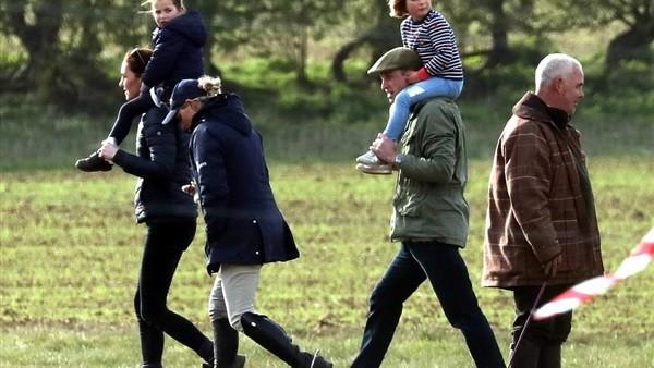 أول ظهور لكيت ميدلتون وزوجها بعد قصة خيانته.. صور