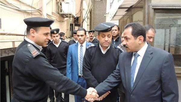 النمر يشدد علي اتخاذ التدابير الإحترازية لحفظ الأمن بالاسكندرية