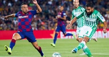 برشلونة ضد بيتيس.. البارسا يتعادل 1-1 في الشوط الأول تحت أنظار ميسي